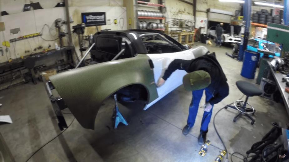 Drift C6 Carbon Kevlar Body kit