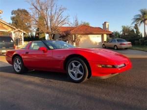 King of the Hill Corvette