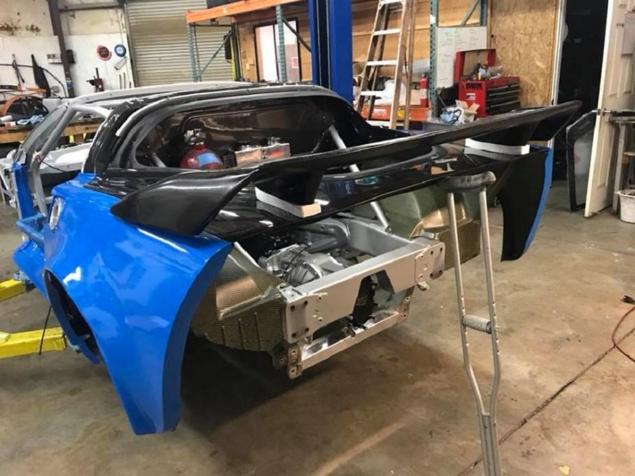 Drift Corvette