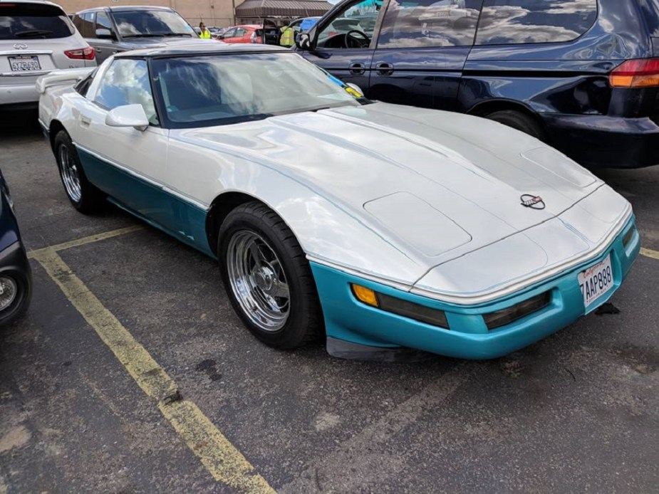 Corvetteforum.com Radwood Rad C4 Corvette Spotted