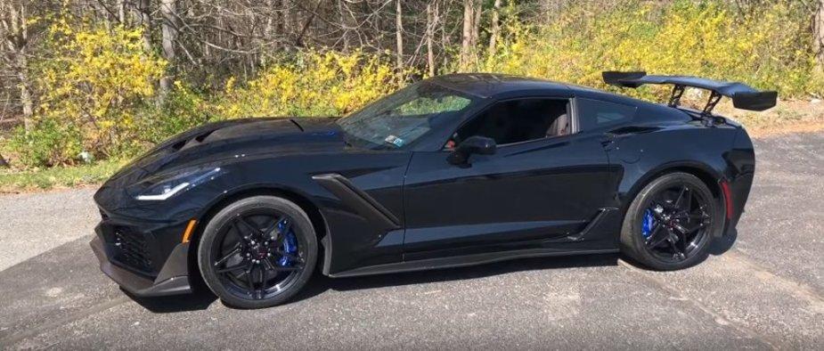 2019 Corvette ZR1 DeMuro
