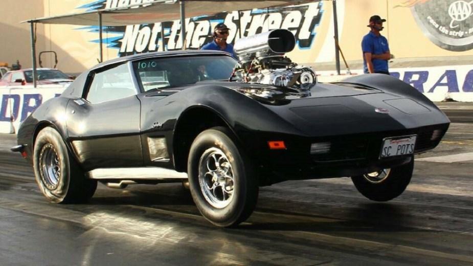 corvetteforum.com 1973 Pro Street Corvette