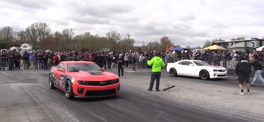 Main Event Chevy Race