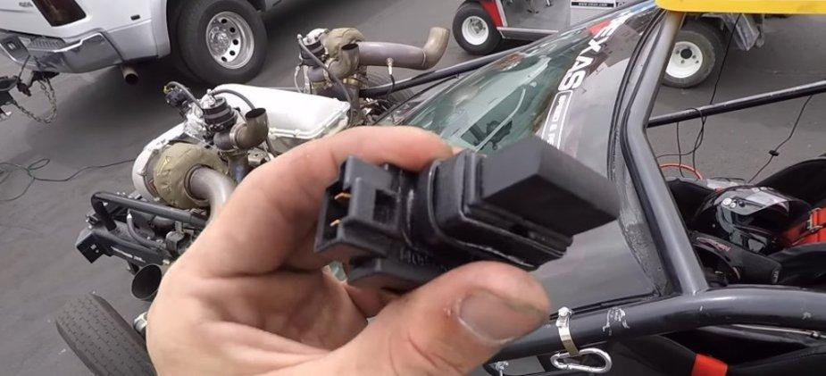 Corvette No Lift Shift button