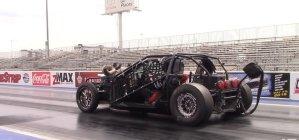 Leroy Corvette on the Track