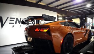 Corvette ZR1 on the Dyno