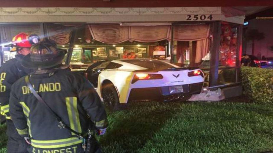 Corvette Visits McDonald's