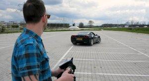 Harms Controlling Remote Corvette
