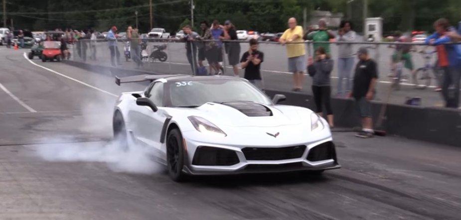 Corvette ZR1 Burnout