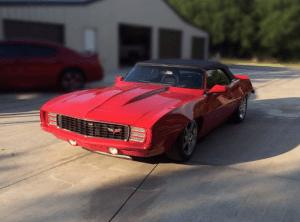 C5 Corvette 1969 Camaro
