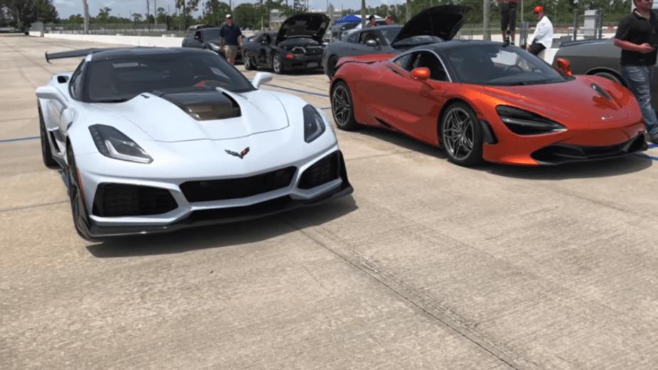 Corvette ZR1 vs McLaren 720S