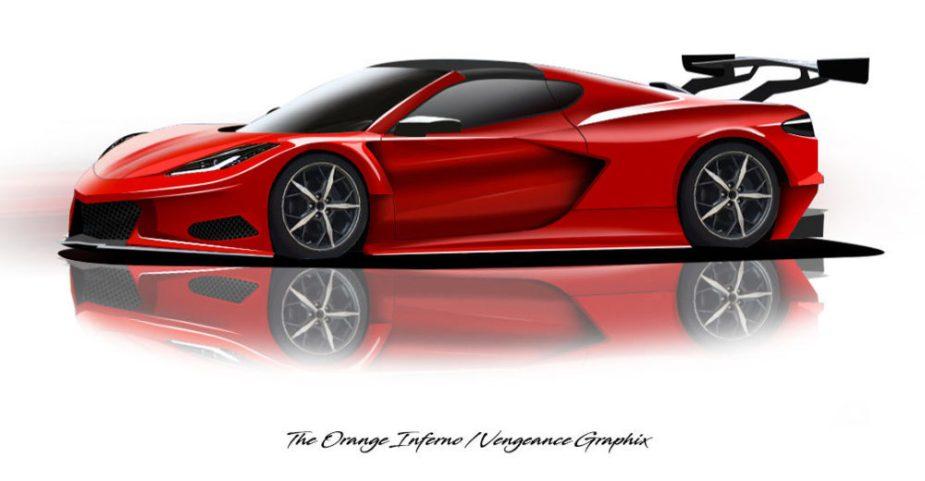Corvette C8.R Render