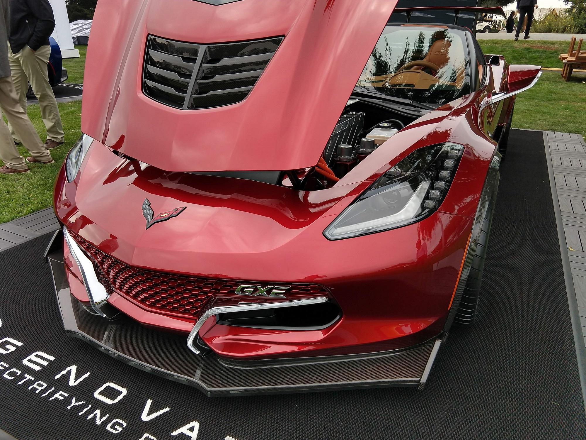 Genovation GXE 220 MPH Electric Corvette Pebble Beach Corvetteforum.com