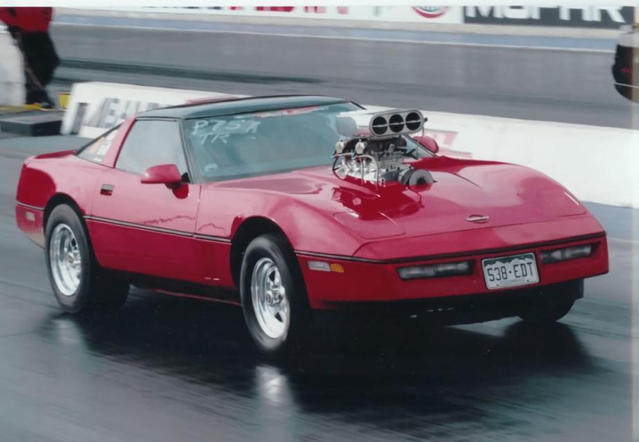 Blown 1986 Chevrolet Corvette
