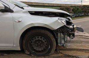 Corvette Victim Car