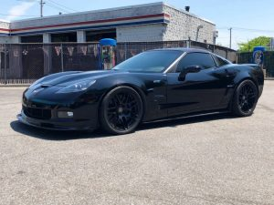 C6 ZR1 tuned supercharger marketplace blacked out
