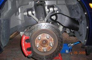 Base C6 Corvette Front Brakes