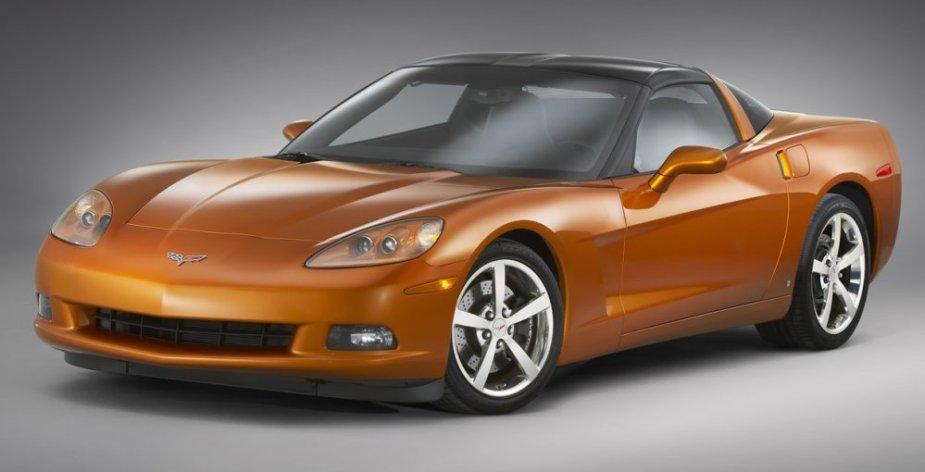 C6 Corvette Front