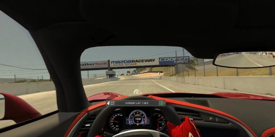 Corvette Stingray Laguna Seca Starting Line