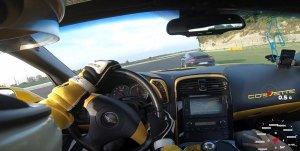 Corvette Passes Porsche