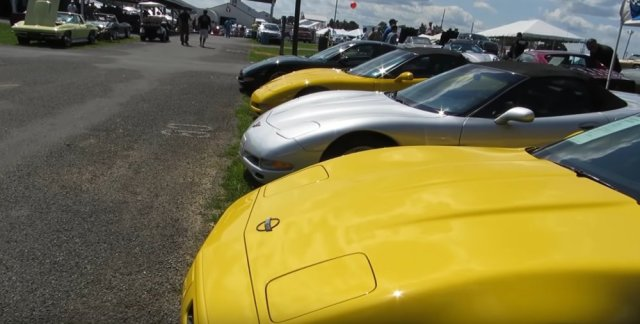 Corvettes at Carlisle Lineup