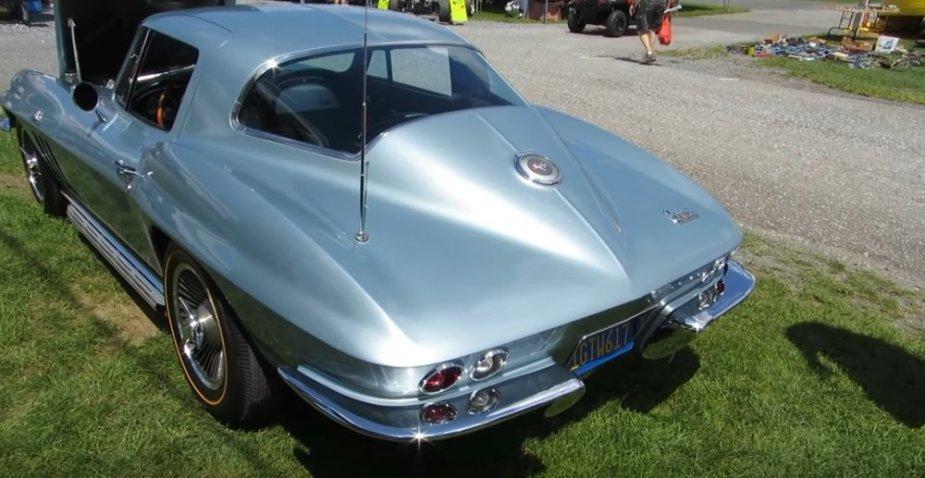 C2 Corvette Rear