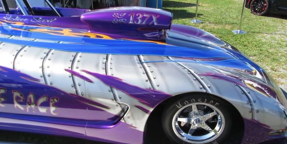 Corvette Race Car at Carlisle