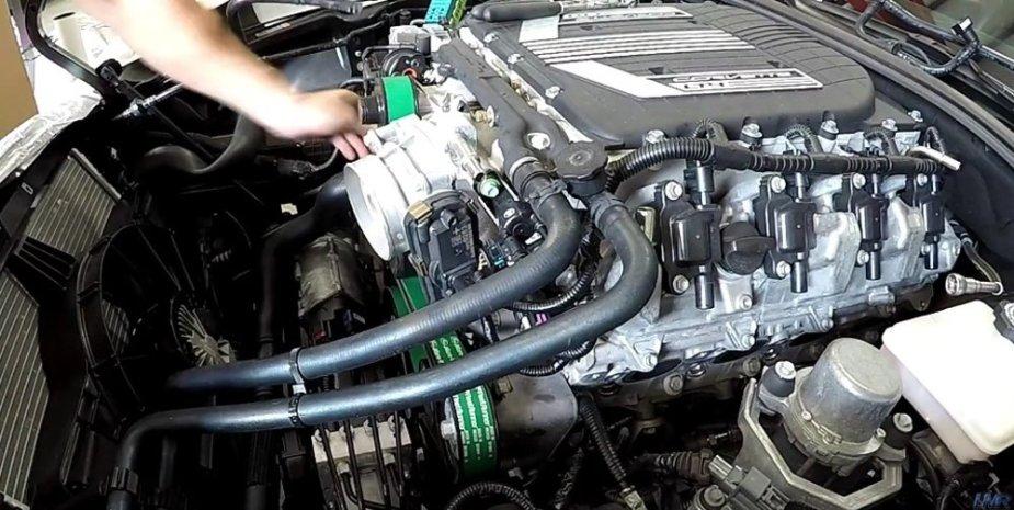 LMR750 Corvette Install