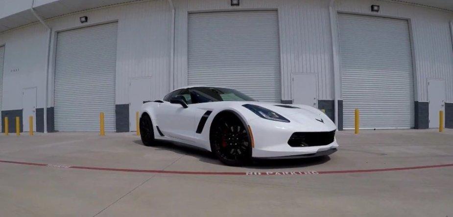 LMR750 Corvette Beauty Shot