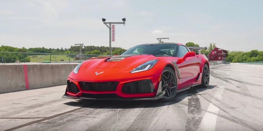 2019 Corvette ZR1 Lightning Lap