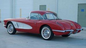 1960 Corvette Rear