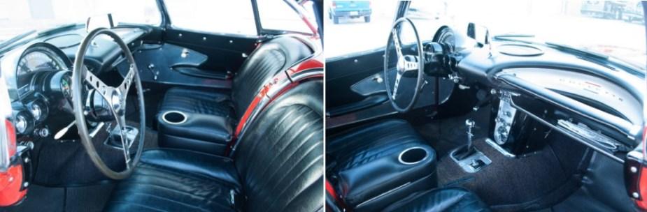 1960 Corvette Interior