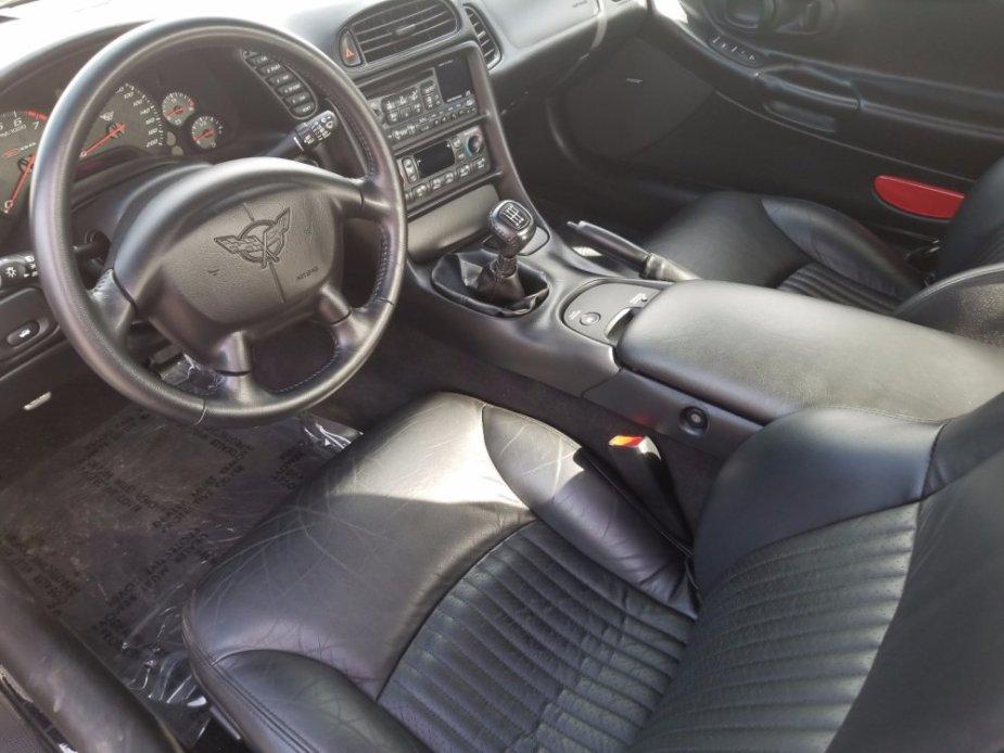 C5 Corvette Z06 Cockpit