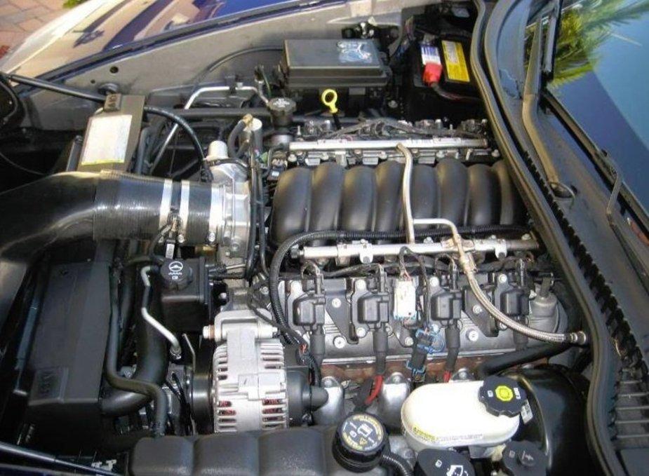 C6 Corvette Engine Stock