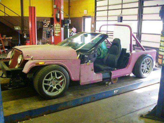 Jeep-Bodied Corvette Z06