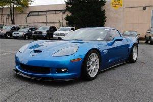 2008 Corvette Z06 Driver's Side Front