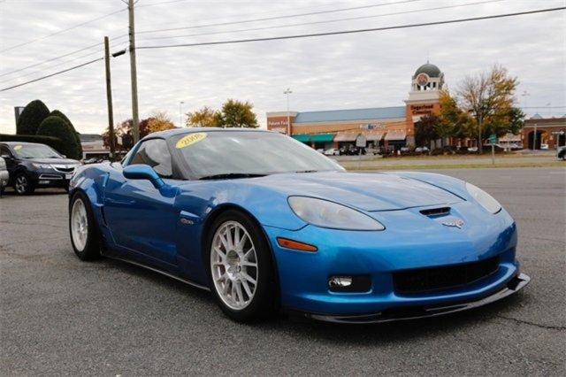 2008 Corvette Z06 Passenger Front Corner