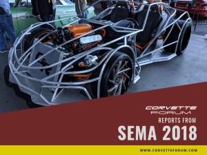 Polaris Sling-Ray Corvette ZR1 Slingshot SEMA 2018 CorvetteForum.com