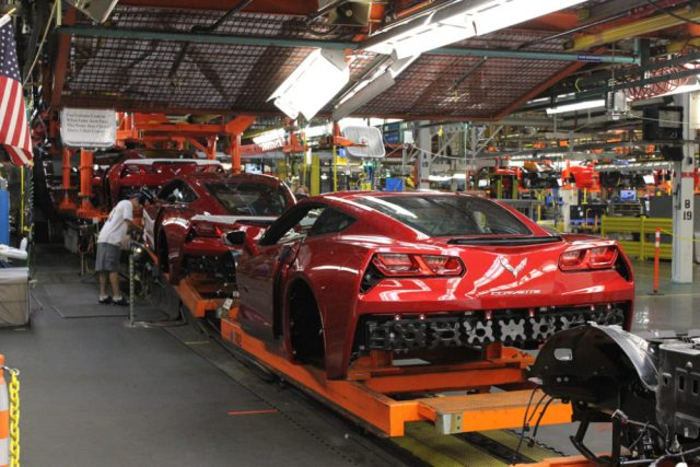 C7 Corvette Assembly