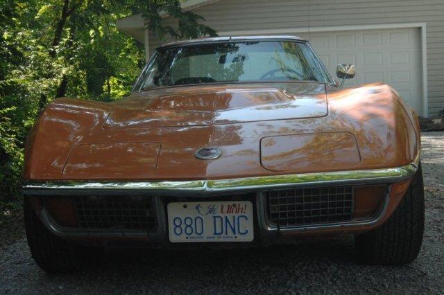 1972 Corvette Front