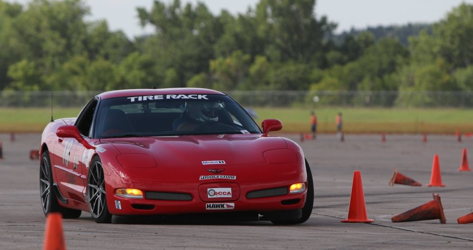 C5 Z06 Autocross monster.
