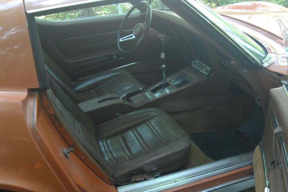 1972 Corvette Interior
