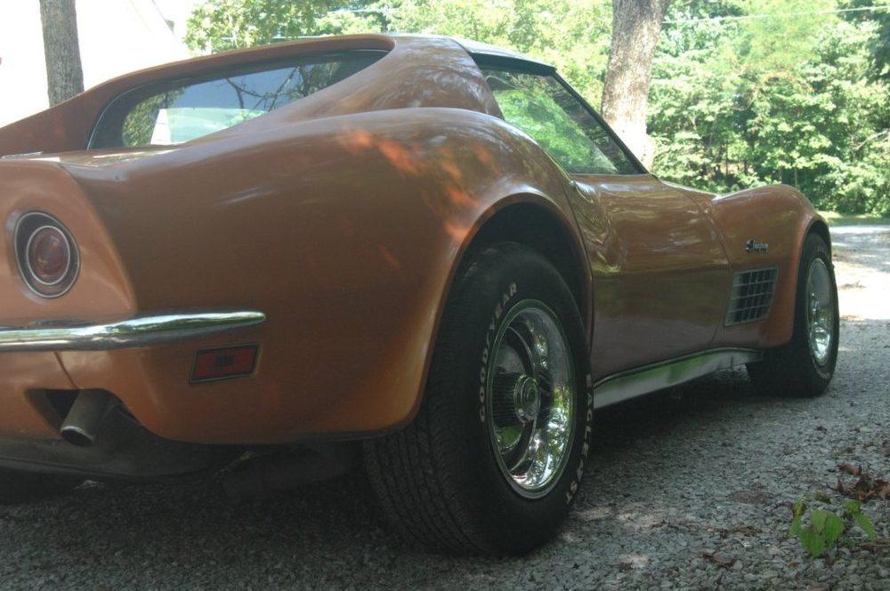 1972 Corvette Rear Side