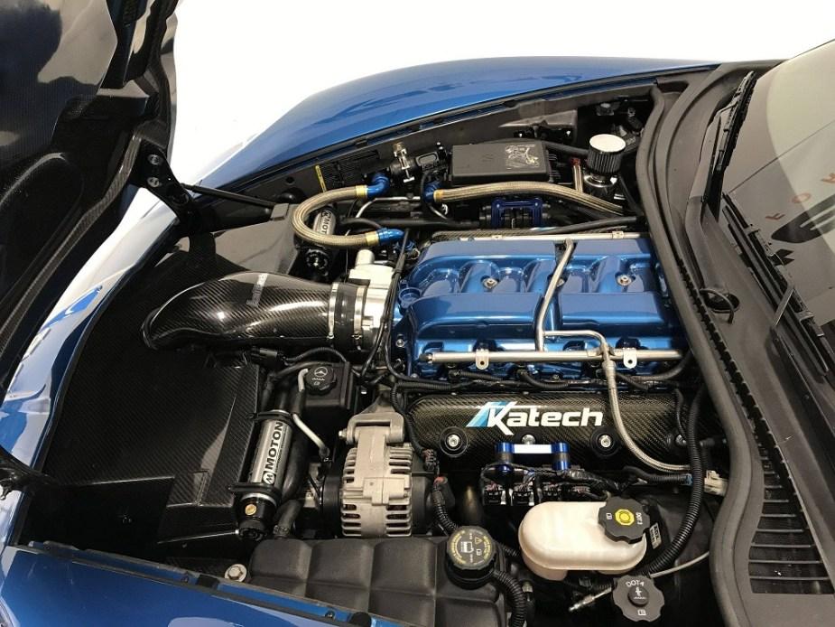 Corvette Cold Air Induction Kit