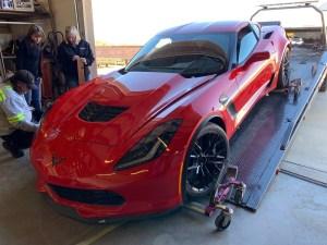 Cheap Wrecked C7 Corvette Z06 for Sale