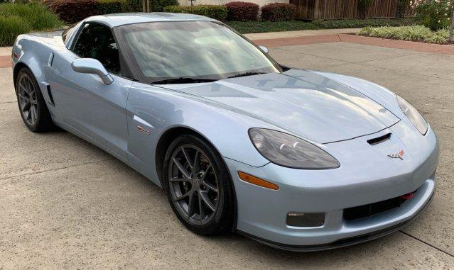2012 Corvette Z06 Carlisle Blue Front