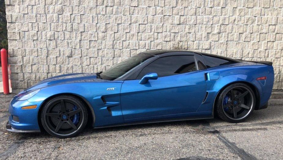 C6 Corvette ZR1 Side