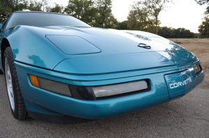 Corvette Front License Plate