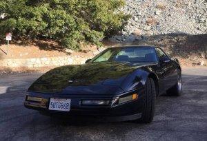 1993 Corvette Front