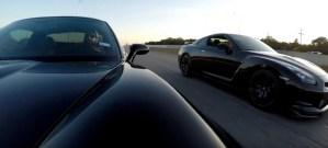 C6 Corvette Z06 Races R35 Nissan GT-R